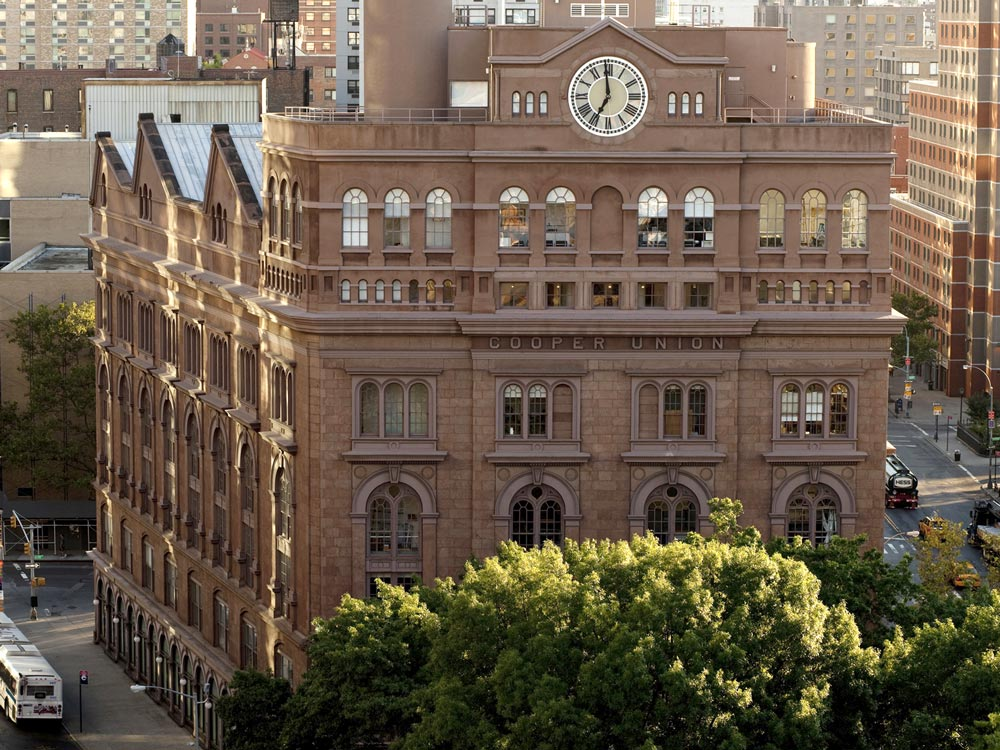 Cooper Union's Foundation Building
