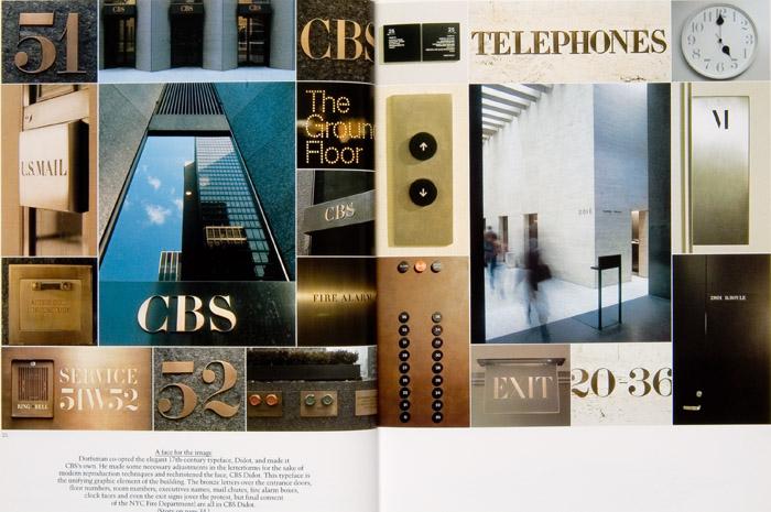 Dorfsman CBS signage